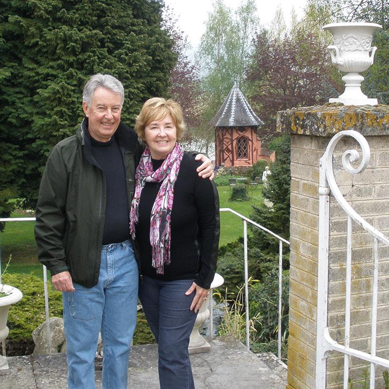 Jo-Ann and her husband Steve